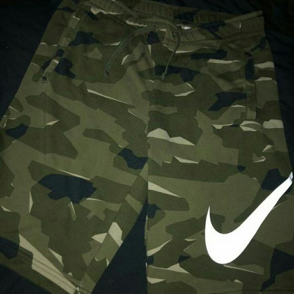 Men Nike Camo Shorts Cash App Only No Scams